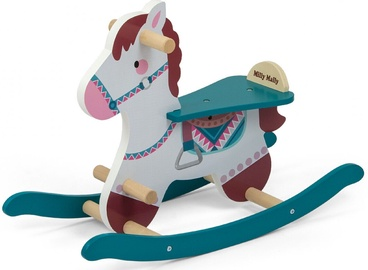 Milly Mally Lucky 18 Rocking Horse Blue