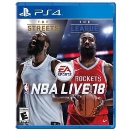 Kompiuterinis žaidimas NBA Live 18, PS4