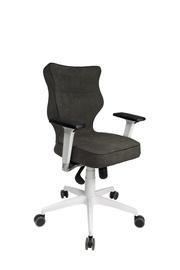 Entelo Perto White AT33 Office Chair Grey