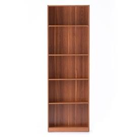 Plaukts Homede Plix Bookcase Wallnut