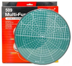Avatar Rotating Cutting Mat Multi Function Plate Round Green