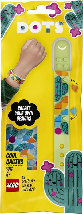Конструктор Constructor LEGO Dots Браслет «Стильный кактус» 41922