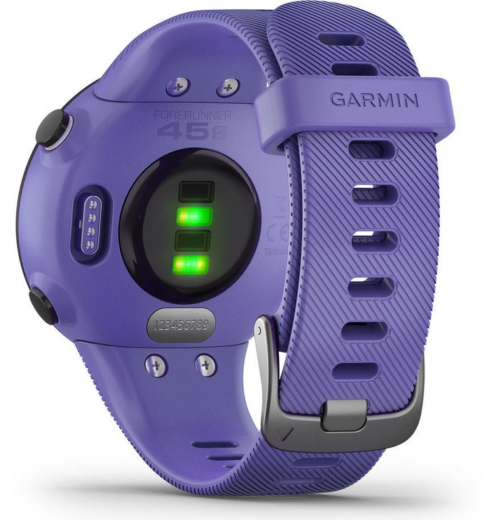 Nutikell Garmin Forerunner 45S, violetne