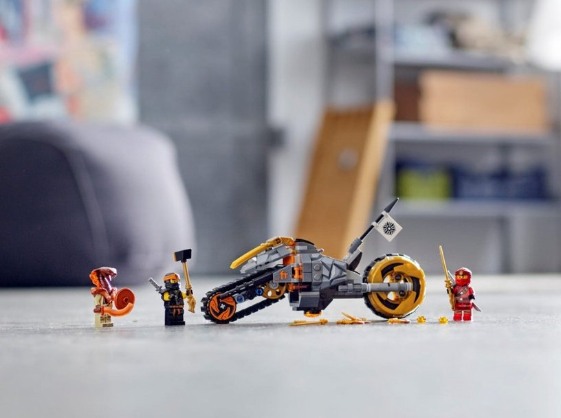 Конструктор LEGO Ninjago Coles Dirt Bike 70672 70672, 212 шт.