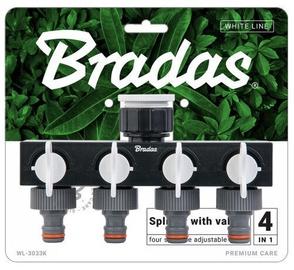 Bradas WL-3033K White Line 4-Way Splitter
