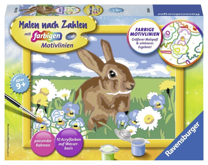 Ravensburger Painting By Numbers Sweet Rabbit 280643