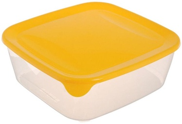 Curver Food Container Square 0,8L Fresh&Go Yellow