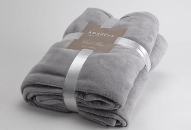 Одеяло Amadeus Quattro, серый, 220 см x 200 см
