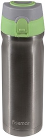 Fissman Travel Mug 500ml Steel Green Cup 9725