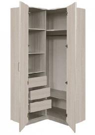 Borovichi Mebel Lotos 8.18 Corner Wardrobe Grey