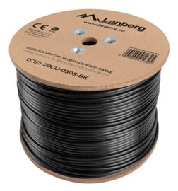 Lanberg Cable CAT5e UTP Black 305m