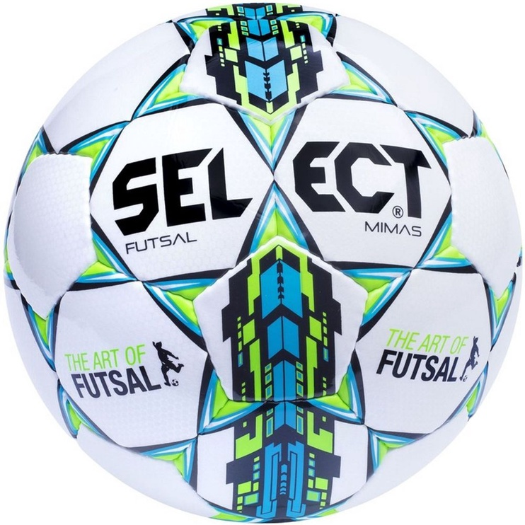 Select Futsal Mimas 4 White Green Blue