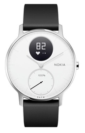 Išmanusis laikrodis Nokia Steel HR 36mm White Black