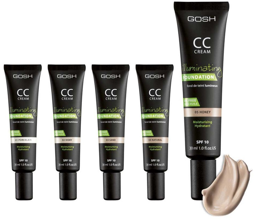 Gosh CC Cream SPF10 30ml 03