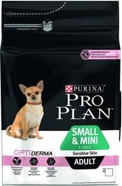 Sausas ėdalas šunims Pro Plan Adult Small and Mini Dogs with Sensitive Skin, 3 kg
