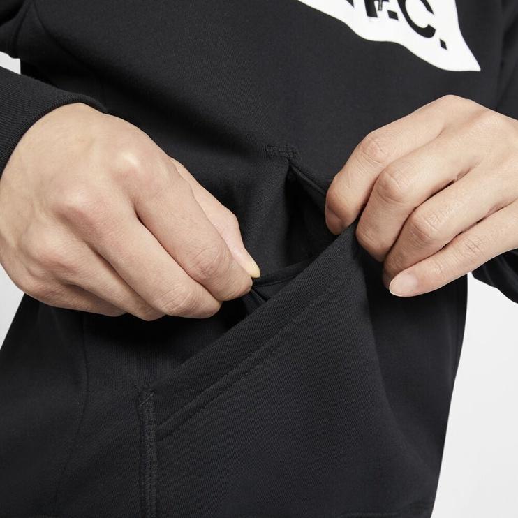 Nike F.C. Mens Football Hoodie CT2011 010 Black S