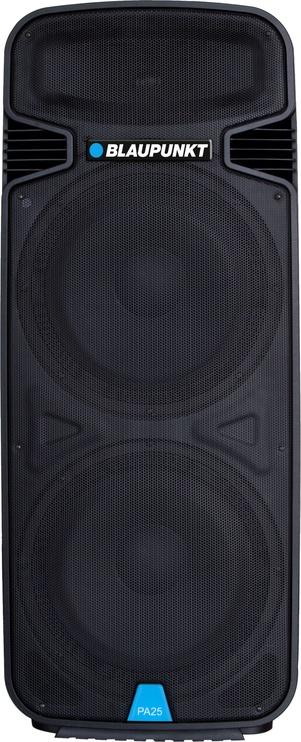 Bezvadu skaļrunis Blaupunkt PA25 Black, 1900 W