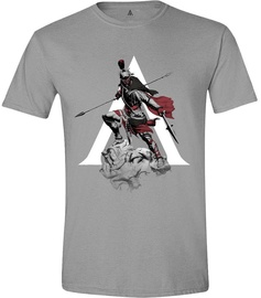 Licenced Assasins Creed Odyssey Character Charge Men T-Shirt Grey S