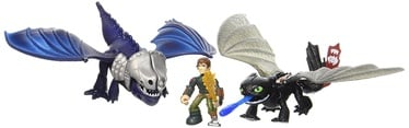 Spin Master How to Train Your Dragon Hiccup & Toothless Vs Armoured Dragon