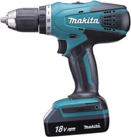 Makita DF457DWE Cordless Impact Drill with 2x18V 1.3Ah Batteries