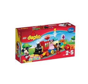 Konstruktorius LEGO Duplo, Mikio ir Minės gimtadienio paradas 10597