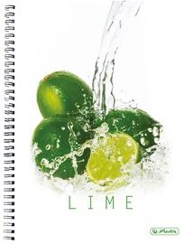 Herlitz Spiral Pad A4 Fresh Fruit Lime 11291697