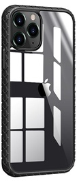 Чехол Devia Shark4 Woven Shockproof for iPhone 12/12 Pro, черный