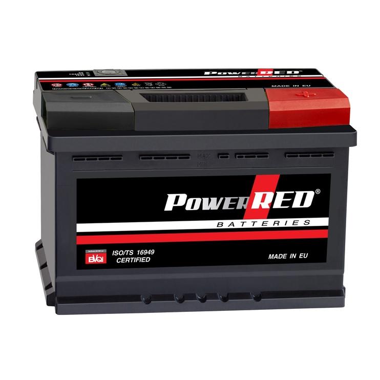 Аккумулятор Monbat Power Red LB3, 12 В, 80 Ач, 720 а