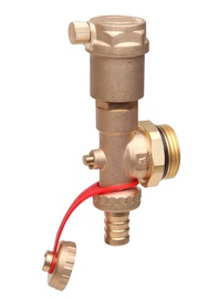 Danfoss Water Connection Manifold with Auto Deair