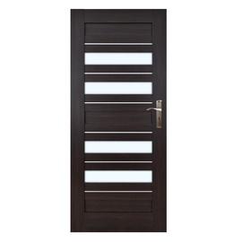 Vidaus durų varčia Bari 7/4, wenge, kairinė, 74.4x203.5 cm
