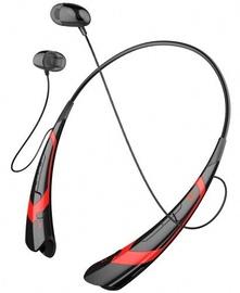Ausinės Art AP-B21 Bluetooth Headset w/Mic Black/Red