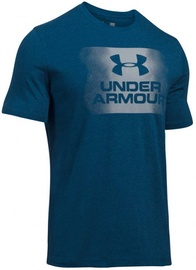 Under Armour T-Shirt Overspray Logo 1289894-997 Blue S