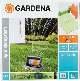 Gardena Set With Oscillating Pop-up Sprinkler OS 140