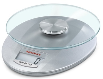 Soehnle Electronic Kitchen Scales Roma Silver