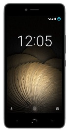 BQ Aquaris U Plus 3/32GB Dual Black Anthracite Grey