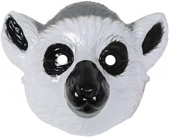 Maska Ring Tailed Lemur, pelēka, 220 mm