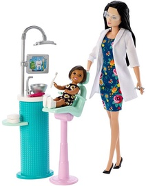 Mattel Barbie Dentist Doll & Playset FXP17