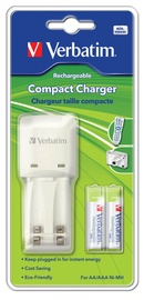 Verbatim Compact Charger + 2 x AAA