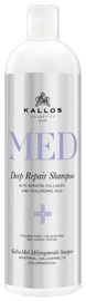 Kallos Med Deep Repair Shampoo 1000ml Without Pump