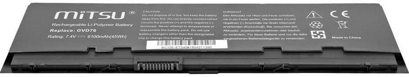 Mitsu Battery For Dell E7240 6100 mAh
