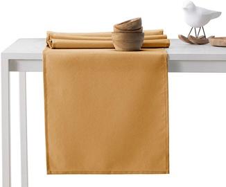 AmeliaHome Empire AH/HMD Tablecloth Set Gold 115x180/30x180 2pcs