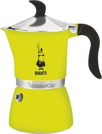 Bialetti Fiammetta Stovetop Espresso Maker 3 Cups Green