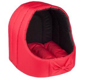 Кровать для животных Amiplay Oval, красный, 440x440 мм