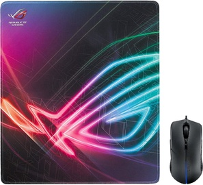 Asus ROG Strix Evolve Gaming Mouse Black + ROG STRIX Edge Mouse Pad