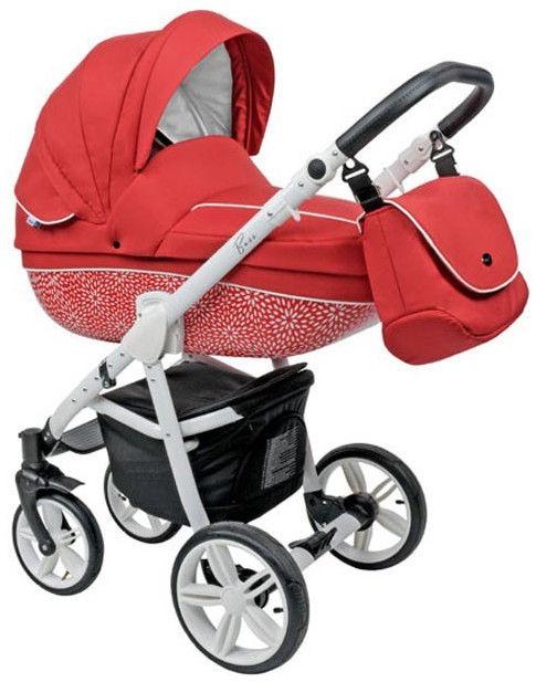 Universalus vežimėlis Roan Bass B7 Red White