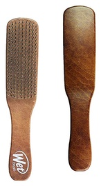 Wet Brush Men's Detangler Brush Brown Leather