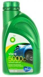 Машинное масло Bp Visco 5000 C 5W - 40, синтетический, для легкового автомобиля, 1 л