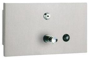 Mediclinics Recessed Push Button Soap Dispenser 1.4l
