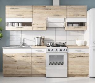 Кухонный гарнитур WIPMEB Rio, белый, 2.4 м