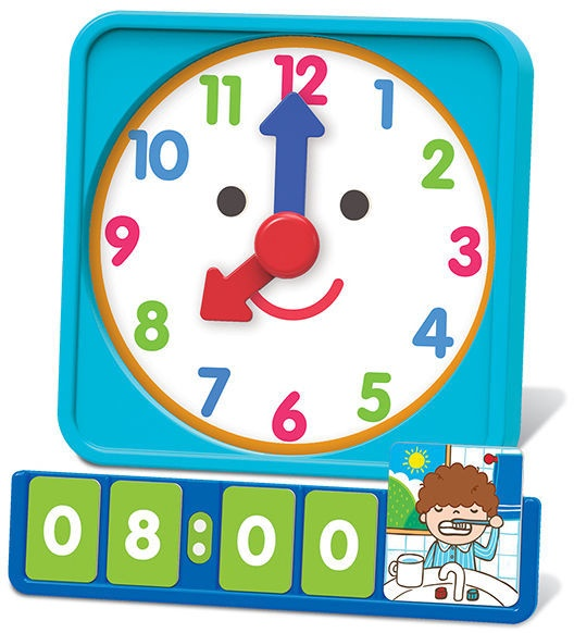 4M Thinking Kits Tell Time Learning Clock 4689
